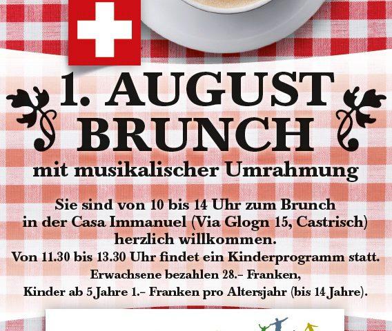 1. August Brunch Casa Immanuel