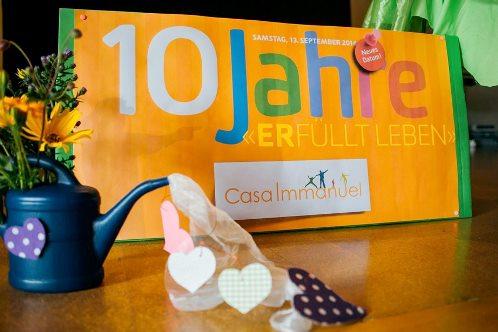 10 Jahre Jubiläum Stiftung Casa Immanuel