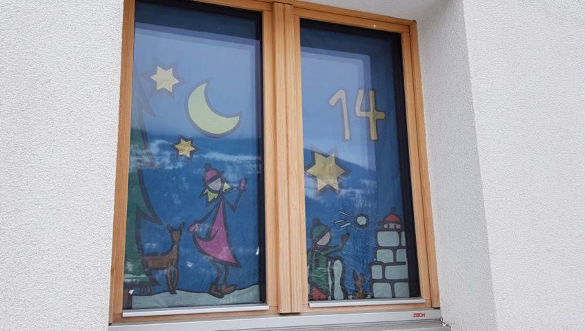 Casa aktuell, Weihnachtsfenster 2018